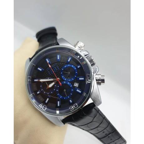 Private: Cerruti 1881 Men's Luxurious Black Dial Silver Wrist Watch