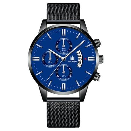 Private: Men's Waterproof Quartz Wrist Watch