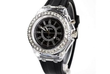 Private: Geneva LED Sport Waterproof Quartz Wrist Watch