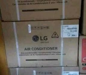 New lg air conditioner