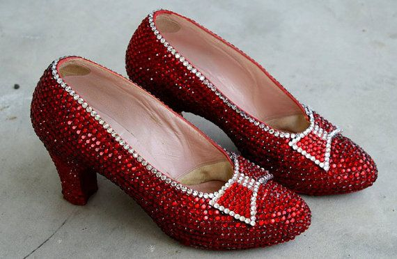 Private: HARRY WINSTON RUBY SHOES