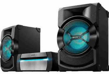 SONY POWER HOME AUDIO SYSTEM SHAKE-X10D