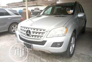 Mercedes-Benz M Class 2009 ML350 AWD 4MATIC Silver