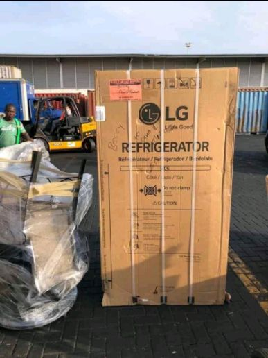 New lg refrigerator