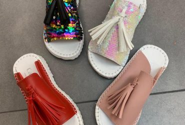 Classic Unisex Sequence Slippers