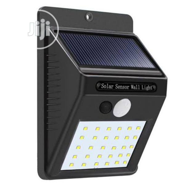 Solar Wireless Security Motion Sensor Led Night Light