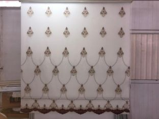 Double layer Window blind