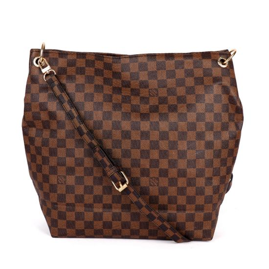 LV – DAC MM Canvas Totally MM Shoulder Bag- Coffee
