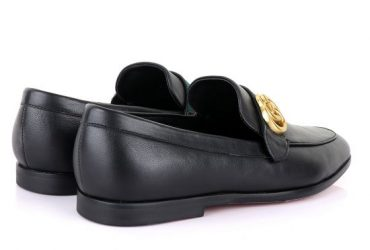 GC Luxury Black Leather Formal Shoe