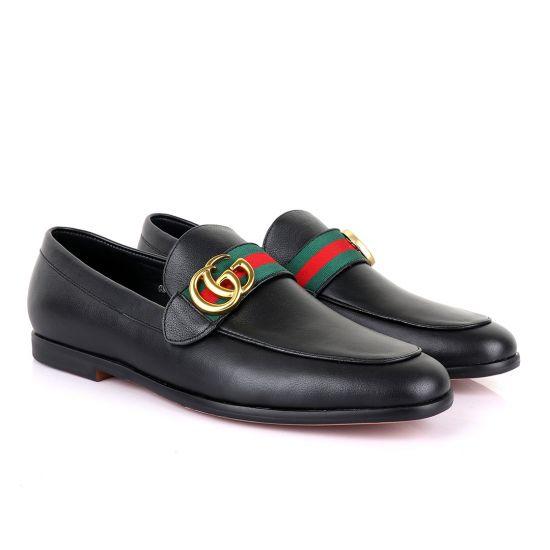 GC Luxury Black Leather Formal Shoe