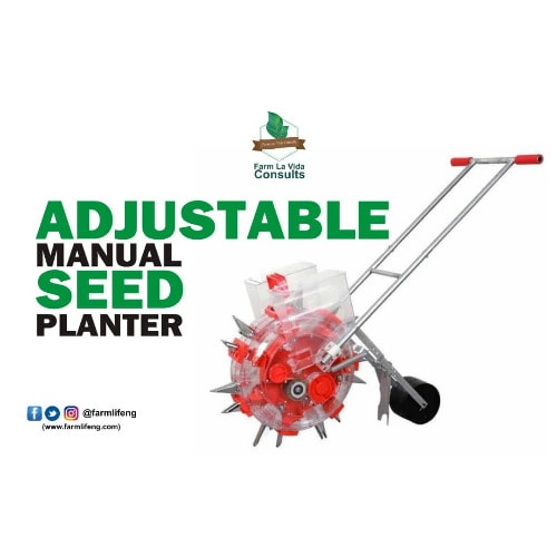 Adjustable Manual Corn Seeder – Seed Planter – Hand Seeder