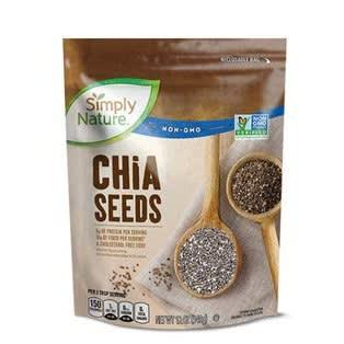 Simply Nature Chia Seeds – 12oz