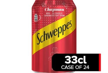 Schweppes 33cl Chapman Drink X 24 Cans