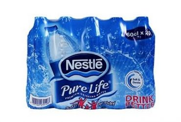 Nestle Pure Life Table Water 60cl Regular X 20