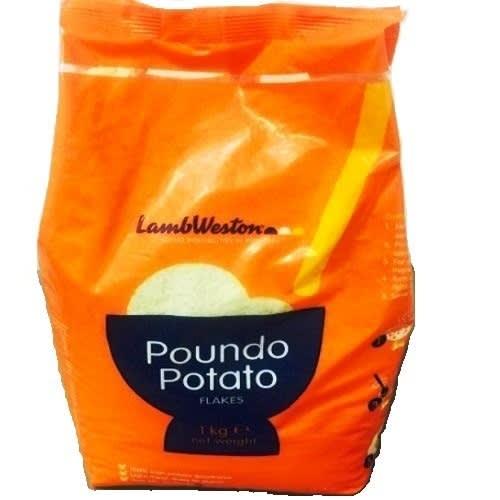 Potato Poundo Flakes -1 Kg