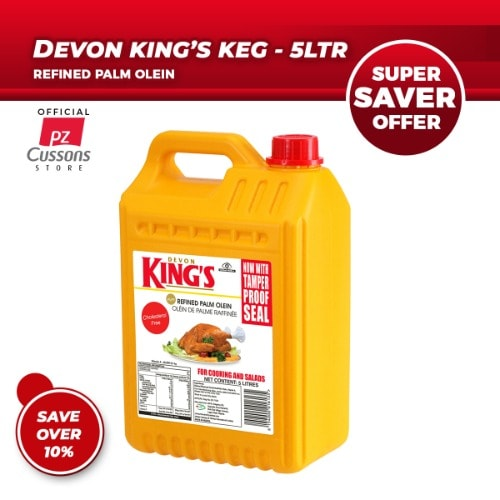 Devon King's Cooking Oil – 5L