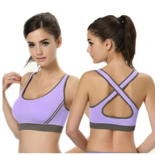 Women's Shockproof Padded Sport Wear – Purple