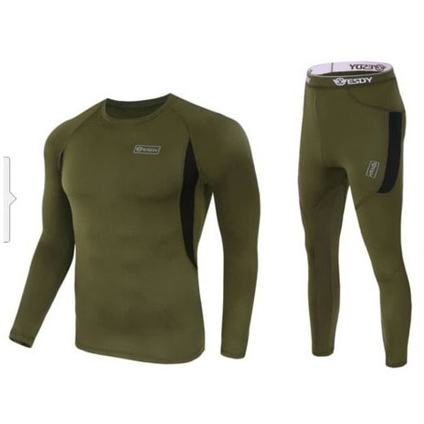 Esdy Outdoor Sports Wear For Men – 2Piece – Green