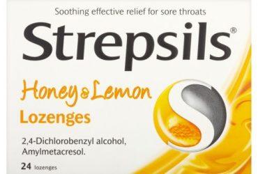 Strepsils Honey & Lemon – 24 Lozenges