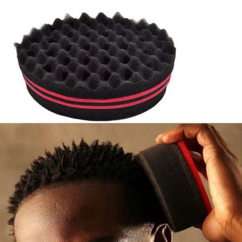 Magic Twist Sponge Brush For Dreads Locking Coil Afro Curl Wave Tool