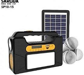 Saroda Solar Power Kit, Fm Radio, Mp3 And Bluetooth