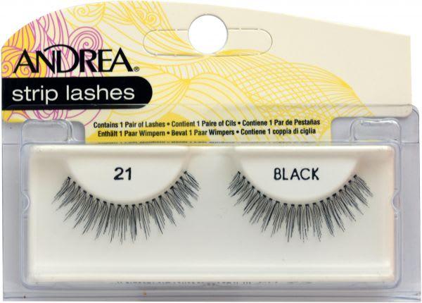 Andrea Strip Lashes Style 21 – Black