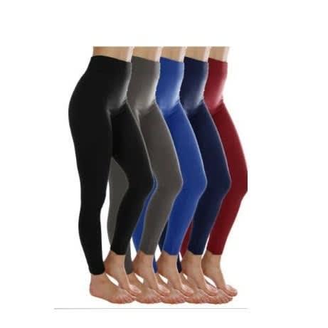 Private: High Waist Stretchy Leggings – 5 Pcs