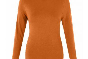 New Look Turtle Neck Long Sleeve Top – Tan