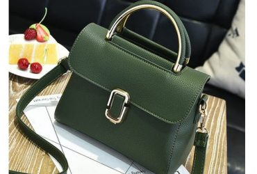Fastshipping Messenger Handbag – Green