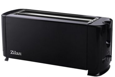 Zilan 4 Slices Bread Toaster – Black