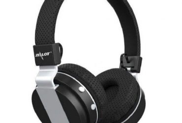 Zealot 047 Bluetooth Wireless Headphone With Built-in Mic & Radio – Black