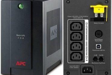 APC Easy Back-ups 700va 230v Avr Iec Sockets – BX700UI