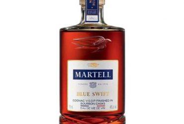 Martell Vsop Blue Swift 75cl Acl 40%, Single Bottle
