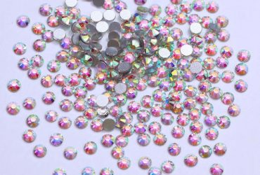 AB Colour Crystal Nail Rhinestones – 1 Bag