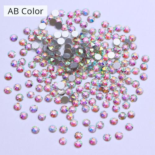 AB Colour Crystal Nail Rhinestones – 1 Bag