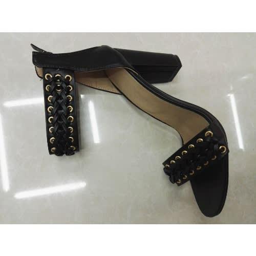 tVogellia Ankle Strap Heels