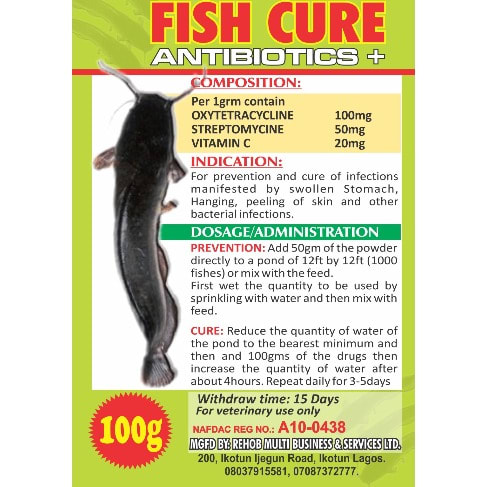 Fish Cure – 10 Pieces