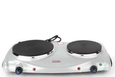Sonik Double Hot Plate – Dhp 202 – Silver