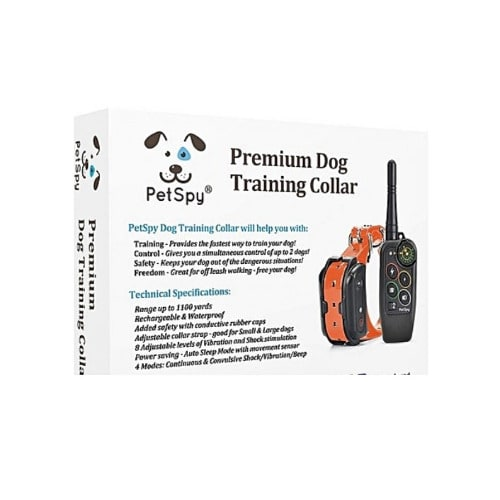 Premium Dog Training Shock Collar For Dogs With Vibration, Shock And Beep