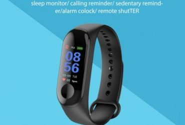 M3 Smart Fitness Tracker – Heart Rate Bracelet