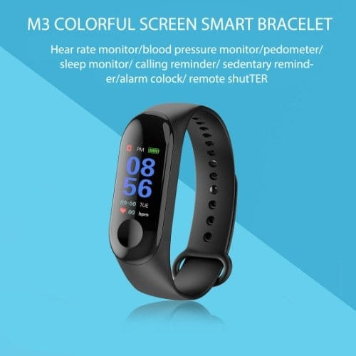 M3 Smart Fitness Tracker – Heart Rate Bracelet