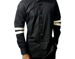 Slim Fitted Casual Long Sleeve Shirt