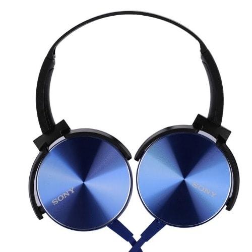 Sony Extra Bass Headphone Xb-450 – Blue