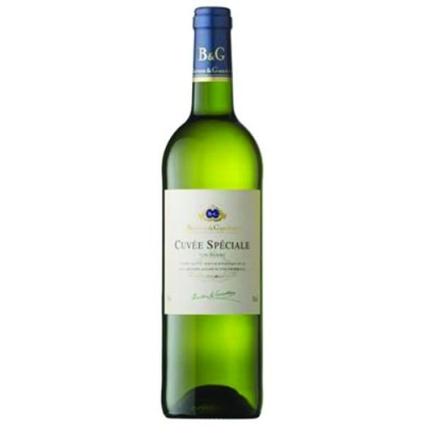 B & G Cuvee Special White – 75cl 12.5% acl – Single Bottle