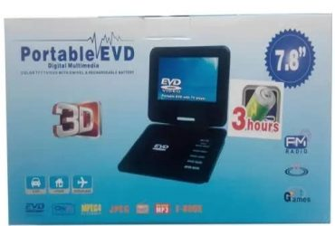 "Sony 7.8"" Rechargeable Portable Dvd Player"