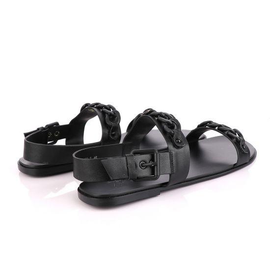 Giuseppe Zanotti Black Chain Sandal