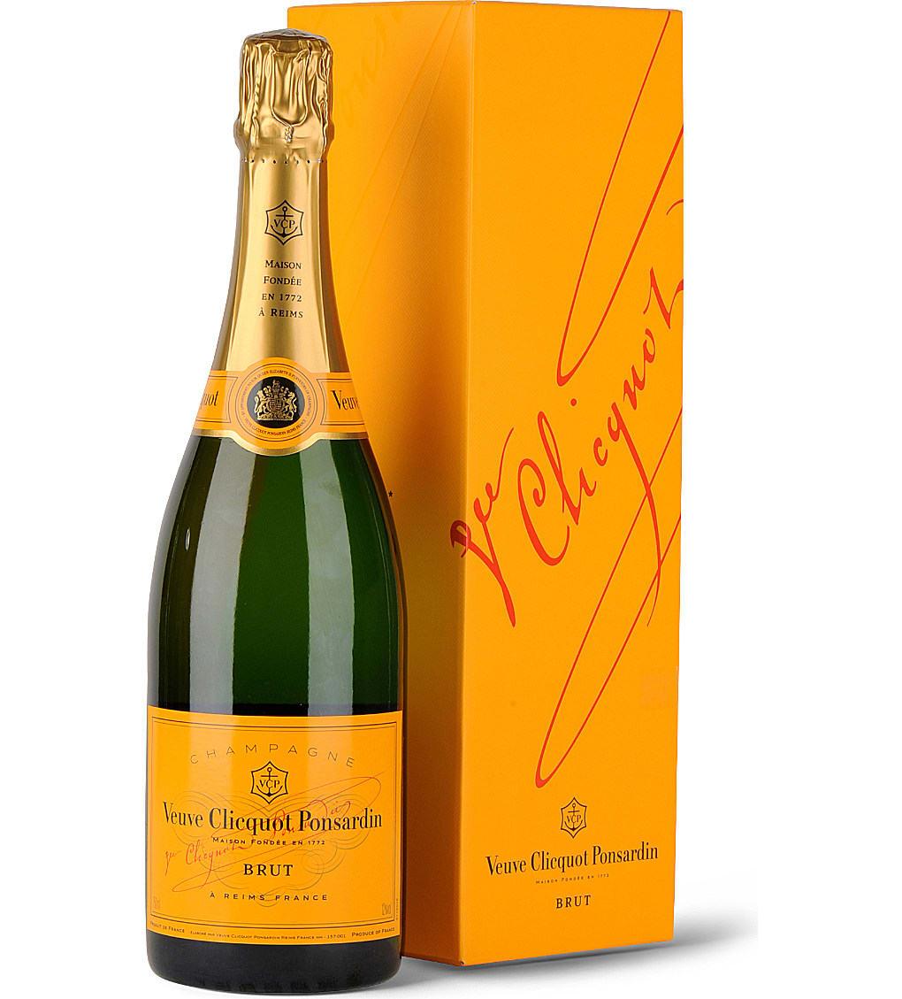 Veuve Clicquot Clicquot Brut – 75cl 12% acl. (Single Bottle)