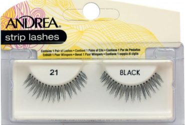 Andrea Strip Lashes Style 21 – Black