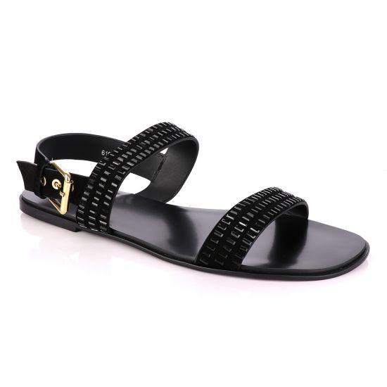 Philipp Plein Swarovski Crystal Studded Sandals