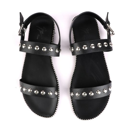 Giuseppe Zanotti Farrell Stud Slip On Sandals